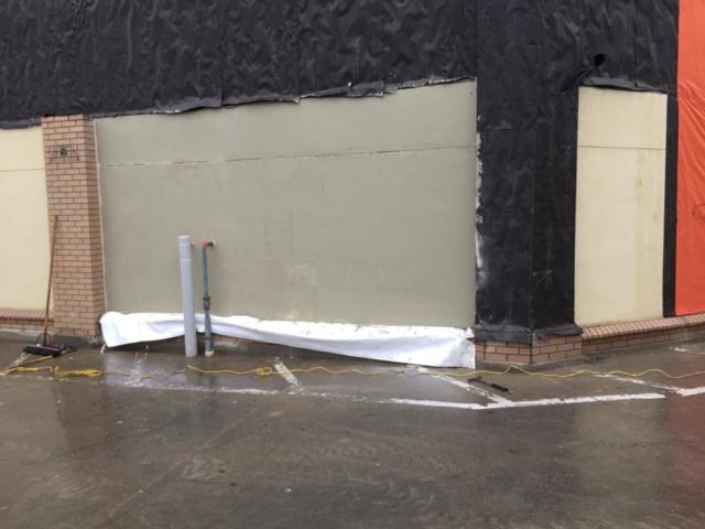 Mcdonalds Stucco Repair