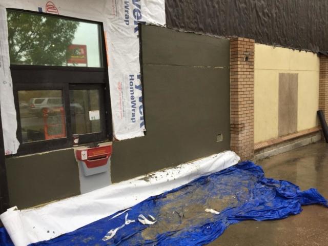 Mcdonalds Stucco Repair Alta Exterior Ltd
