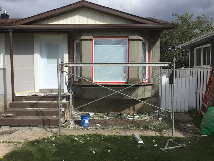Edmonton stucco repair