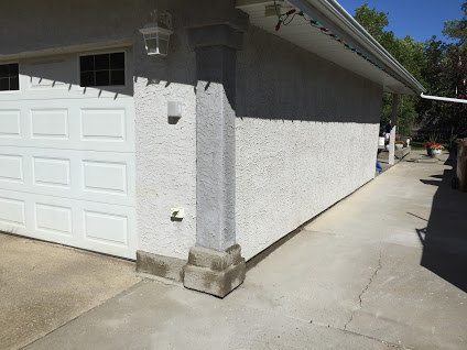 Stucco Repair Service California style