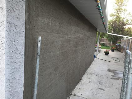 Stucco California style