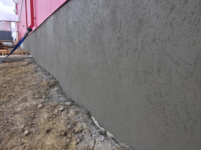 parging textured, concrete