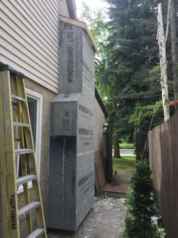 Pebbledash Stucco repair