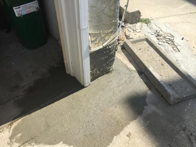 concrete, hides cracks