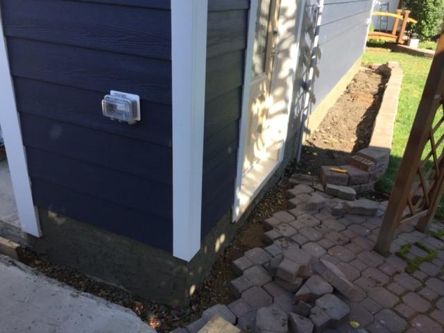Parging Stucco Repair, edmonton